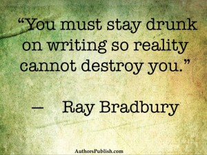 Ray Bradbury Words of Wisdom